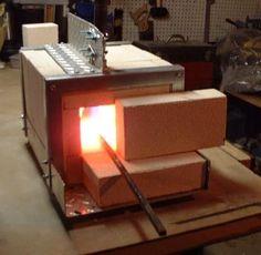 Gas Forge, Propane Forge, Blacksmith Forge, Iron Forge, Metal Projects, Welding Projects, Welding Art, Forge Diy, Mini Forge
