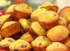 Mini Muffin Corn Dog Poppers