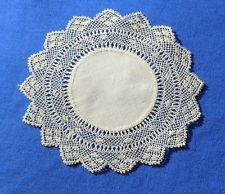 Rare Antique Handmade Armenian Lace Doily – not crochet!