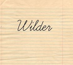 50 Baby Names Inspired By Writers.....They used Wilder after Laura ...