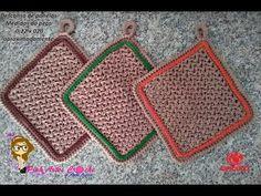 👊# Descanso de Panela ou travessa - Pink Artes Croche by Rosana Recchia - YouTube Pot Holders, Kids Rugs, Elsa, Pink, Youtube, Crochet Carpet, Crochet Potholders, Stove Hoods, Hot Pads