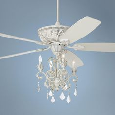 "country - cottage 52"" casa chic™ antique white chandelier ceiling"