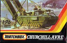 Plastic Model Kits, Plastic Models, Churchill, Tank Warfare, Retro Games, Vintage Box, Box Art, Military Vehicles, Hobbies
