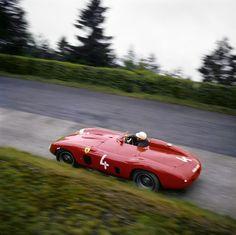 Ferrari Phill Hill, Nurburgring, Germany, 1959