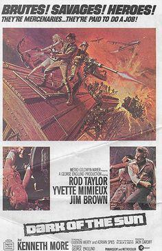 Dark of the Sun (aka The Mercenaries) (1968) [Katanga]