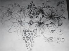 Image detail for -Pin Flowers And Leopard Print Tattoo on Pinterest