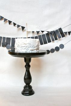 Hey, I found this really awesome Etsy listing at https://www.etsy.com/listing/90776684/black-cake-stand-smalltall-size