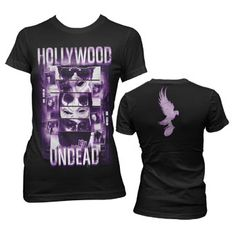 0c938694bef Hollywood Undead - Juniors Collage T-Shirt In Black
