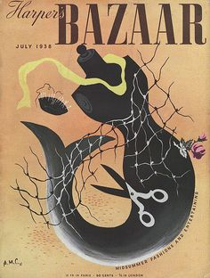 Harper's Bazaar Mermaid