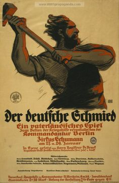 Examples of Propaganda from WW1 | German WW1 Propaganda Posters Page 8