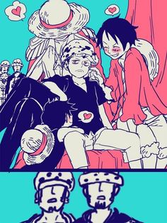 1 số Doujinshi trong one piece - Law x luffy - Wattpad One Piece Comic, One Piece Manga, Ace One Piece, One Piece Funny, One Piece Ship, One Piece Fanart, Zoro, Manga Anime, Cartoon Jokes