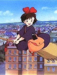 Kiki's Delivery Service - How can this girl be 13? *sigh*