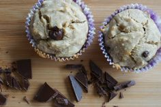 The Best of this Life: Gluten-Free Chocolate Chip Banana Muffins