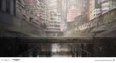 ArtStation - Ghost In The Shell., Nivanh Chanthara
