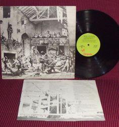 "Jethro Tull  Minstrel In The Gallery CHR 1082 33RPM 12"" 1975 Upsidedown Reverse #FolkCountryRockHardRock"