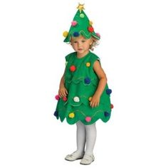 Kids little christmas tree costume christmas costumes shop amp compare
