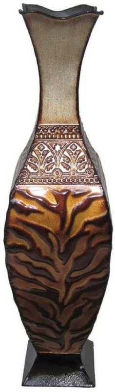 Kohl's Animal Print Pedestal Table Vase