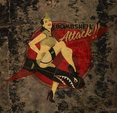 47 Super Ideas Music Tattoo Vintage Pin Up Pin Up Girl Vintage, Vintage Pins, Nose Art, Image Avion, Pin Up Posters, Airplane Art, Garage Art, Garage Signs, Aviation Art