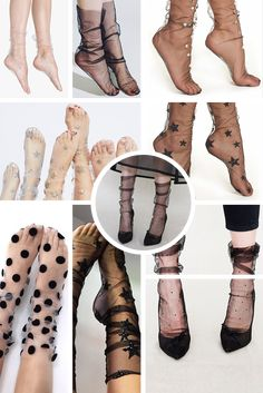 20+ Tulle socks! Trend shopping board of tulle socks fashion! Check out all trends on my board! All rights reserved to their respective owners!