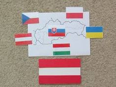 mapa - vlajky (priradovanie vlajok)