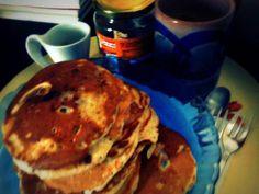 Perfect Sunday Breakfast. Pancakes