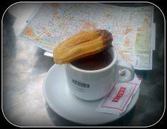 Sjokoladepasjon     - En følelse for kakao!: Deilig søndag med Churros og Sjokolade!