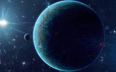 Blue Planet Space Landscape Wallpaper Hd - Your HD Wallpaper #ID76400 (shared via SlingPic)