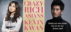 """Crazy Rich Asians"" To Become a Movie: Audrey's Picks for a Dream Cast"