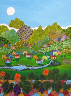 Galia Ron- naive painting