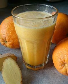Frischer Orangensaft mit Ingwer!  #gesundundfit #vitaminc #energie #vegan #ingwer #orangen #osc #säfte #veggie #transform30