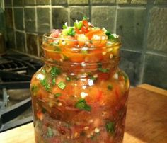 I am so over store bought salsa. I am so over store bought salsa. I have had this feeling for a while now and try to make my own salsa wh...