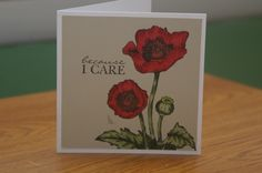 Poppy Red by mayodino - Cards and Paper Crafts at Splitcoaststampers