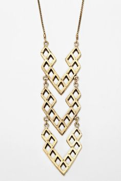 UrbanOutfitters.com > Hex by Lady Grey Scale Necklace