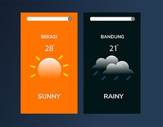 "Check out new work on my @Behance portfolio: ""Weather App"" http://be.net/gallery/63641815/Weather-App"