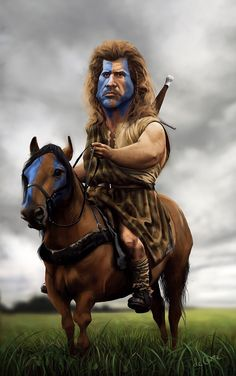 "Mel Gibson as William Wallace in ""Braveheart"" Cartoon Faces, Funny Faces, Cartoon Art, Cartoon Characters, Caricature Artist, Caricature Drawing, Funny Caricatures, Celebrity Caricatures, Mel Gibson"
