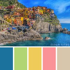 Planning a party, designing a printable, or just want to decorate your home? Get tons of inspiration from these 25 Best Travel Destinations Color Palettes! They're so gorgeous they will take your breath away. Green Colour Palette, Color Palate, World Of Color, Color Of Life, Color Games, Room Color Schemes, Color Psychology, Crazy Colour, Design Seeds