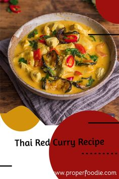 A creamy and full flavoured Thai red curry recipe with tender chunks of chicken and oven roasted veggies. Make this simple Thai red curry in just 30 minutes and for a boost of flavour try it with homemade Thai red curry paste. Thai Red Chicken Curry, Thai Red Curry, Roasted Veggies In Oven, My Favorite Food, Favorite Recipes, Thai Curry Recipes, Red Curry Paste, Frugal, Chicken Recipes