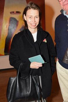 Lady Sarah Chatto. Allen Jones at the Royal Academy private view