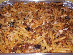 Pasta al forno di rosticceria siciliana