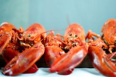 Make a simple lobster recipe served in the shell that's easy to eat without cracking your lobster at the table on the half shell.
