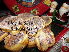 Blog da Suzy : Rabanadas de Forno (fácil)