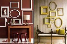 Propuestas para decorar con marcos de fotos...