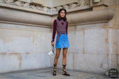 STYLE DU MONDE / Paris SS 2018 Street Style: Diletta Bonaiuti  #Fashion, #FashionBlog, #FashionBlogger, #Ootd, #OutfitOfTheDay, #StreetStyle, #Style
