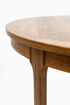 Nils Jonsson dining table in teak produced by troeds in sweden at Studio Schalling