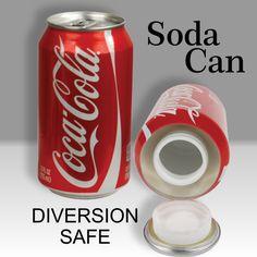 Coca-Cola Diversion Can Safe