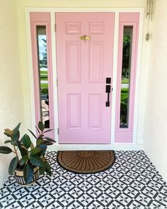 Dream Home Design, My Dream Home, House Design, Cute House, Pink Houses, My New Room, Home Decor Inspiration, Decoration, Sweet Home
