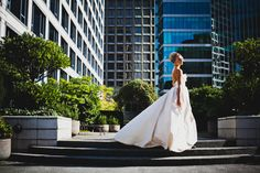 Sample Sale Dramatic Ballgown Wedding Dress with Pockets, Strapless Deep Sweetheart Bodice, Corset Back, Hight Fashion Dress Eco Friendly