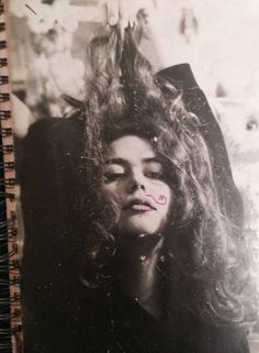 """""""vintage""""notebook cover, before Pinterest ( 1990, me )"""