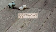 """European White Oak """"GREENTOUCH""""WIRE-BRUSHED Country Grey"""