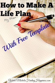 How to Make a Life Plan.  A life plan is all about planning your goals and celebrating when you reach your goals.  Includes a free excel template!